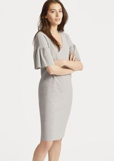 Ralph Lauren Ruffle-Sleeve Sweater Dress