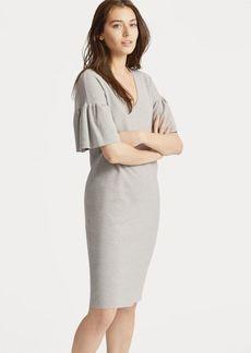 Ralph Lauren Ruffle-Sleeve Sweater Dress
