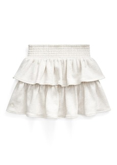 Ralph Lauren Ruffled Atlantic Terry Skirt