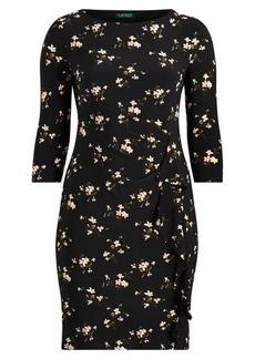 Ralph Lauren Ruffled Jersey Dress