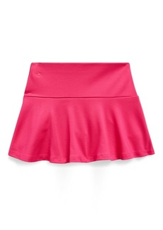 Ralph Lauren Ruffled Stretch Ponte Skort