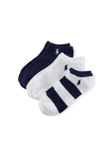 Ralph Lauren Rugby Ankle Sock 3-Pack