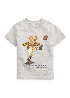 Ralph Lauren Kicker Bear Cotton Jersey Tee