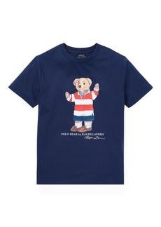 Ralph Lauren Rugby Bear Cotton T-Shirt