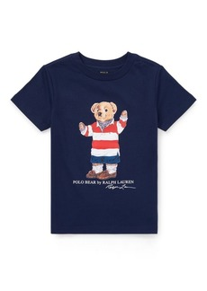 Ralph Lauren Rugby Bear Cotton T-Shirt