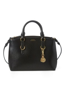 Ralph Lauren Saffiano Leather Mini Satchel