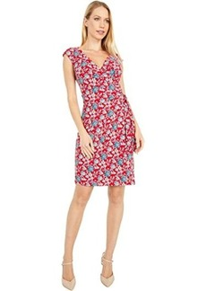 Ralph Lauren Saida Cap Sleeve Day Dress