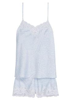 Ralph Lauren Satin Lace Cami Pajama Set