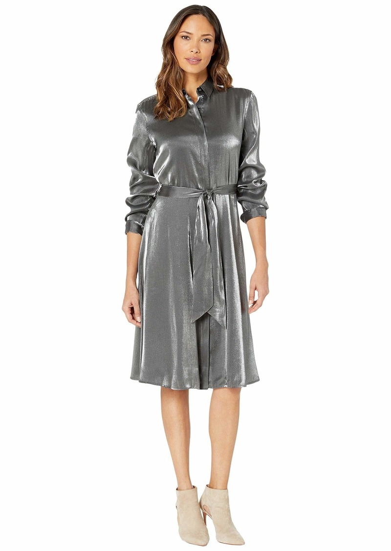 Ralph Lauren Satin Shirtdress