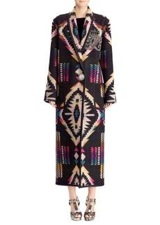 Ralph Lauren 50th Anniversary Sauville Blanket Coat