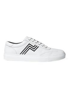 Ralph Lauren Savir Calfskin Sneaker
