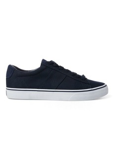 Ralph Lauren Sayer Canvas Low-Top Sneaker