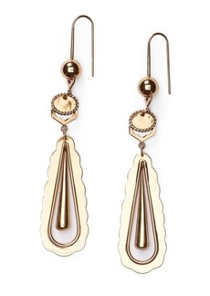 Ralph Lauren Scalloped-Edge Drop Earring