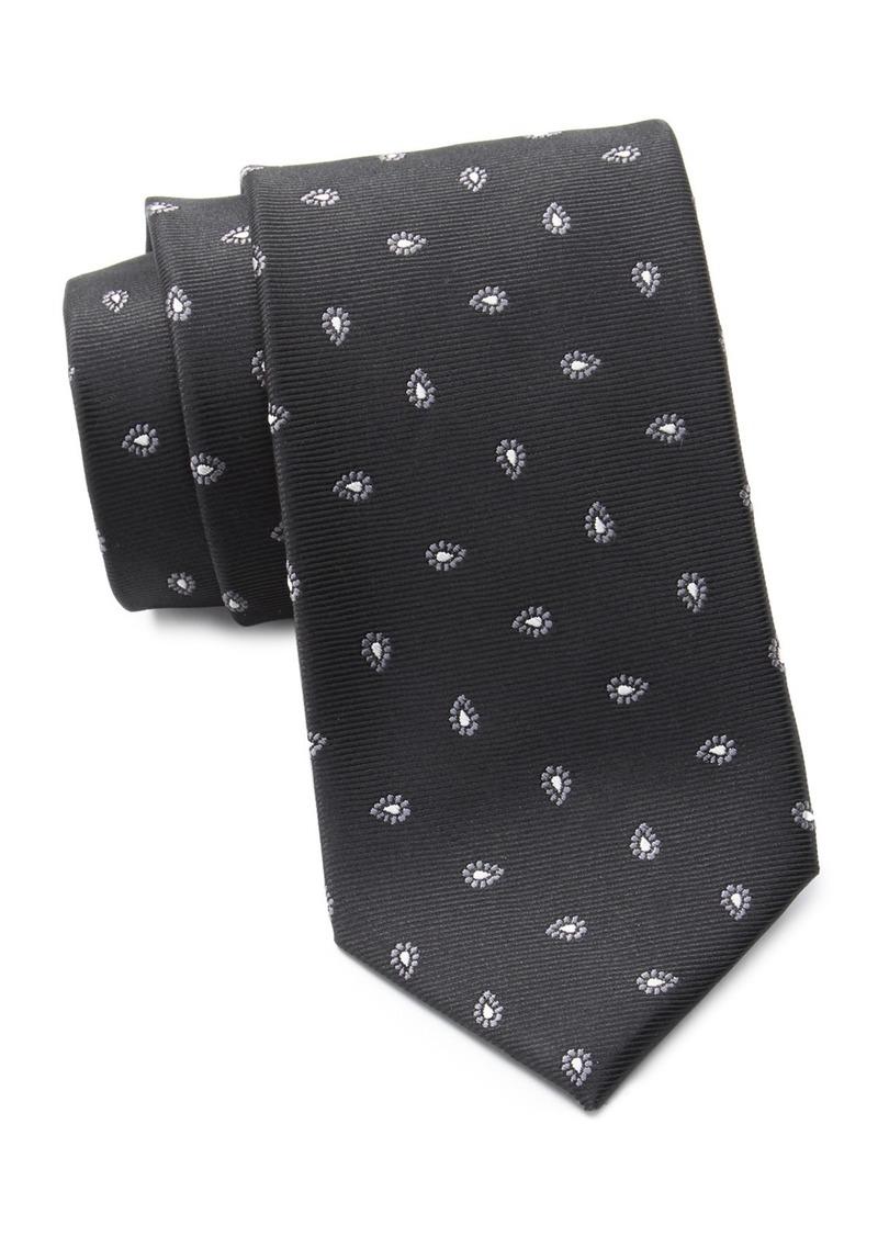 Ralph Lauren Scalloped Pines Tie