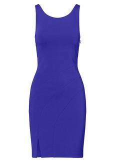 Scoop-Back Sheath Dress