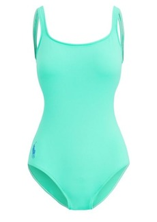 Ralph Lauren Scoopback One-Piece Swimsuit