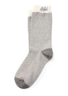 Ralph Lauren Script Cotton-Blend Socks