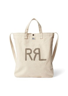 Ralph Lauren Seeded Canvas Market Tote