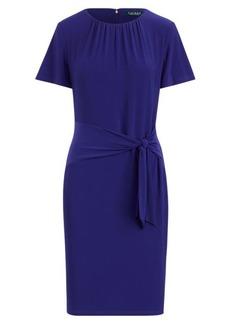 Ralph Lauren Self-Tie Jersey Dress