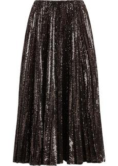Ralph Lauren sequin-embellished pleated skirt