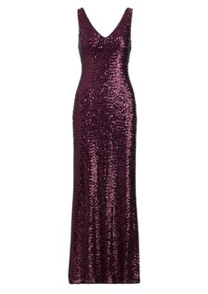 Ralph Lauren Sequined Gown