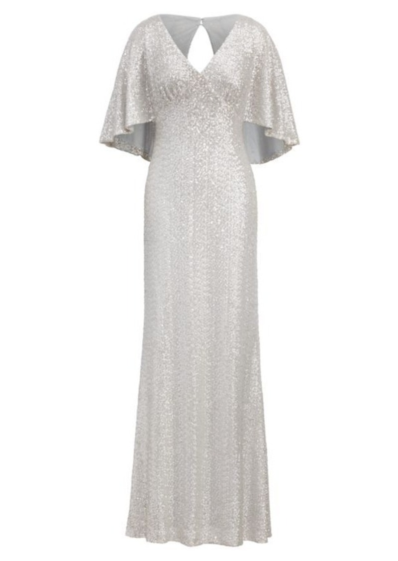 Ralph Lauren Sequined Overlay Gown | Dresses