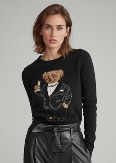 Ralph Lauren Sequined Polo Bear Sweater