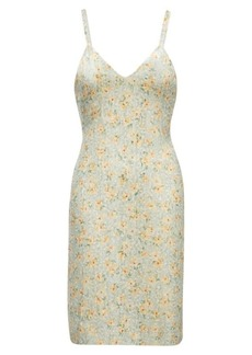 Sequined Silk Georgette Dress