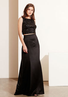 Sequined Top & Skirt Set
