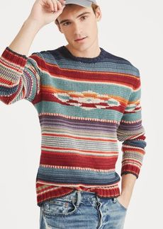 Ralph Lauren Serape Crewneck Sweater