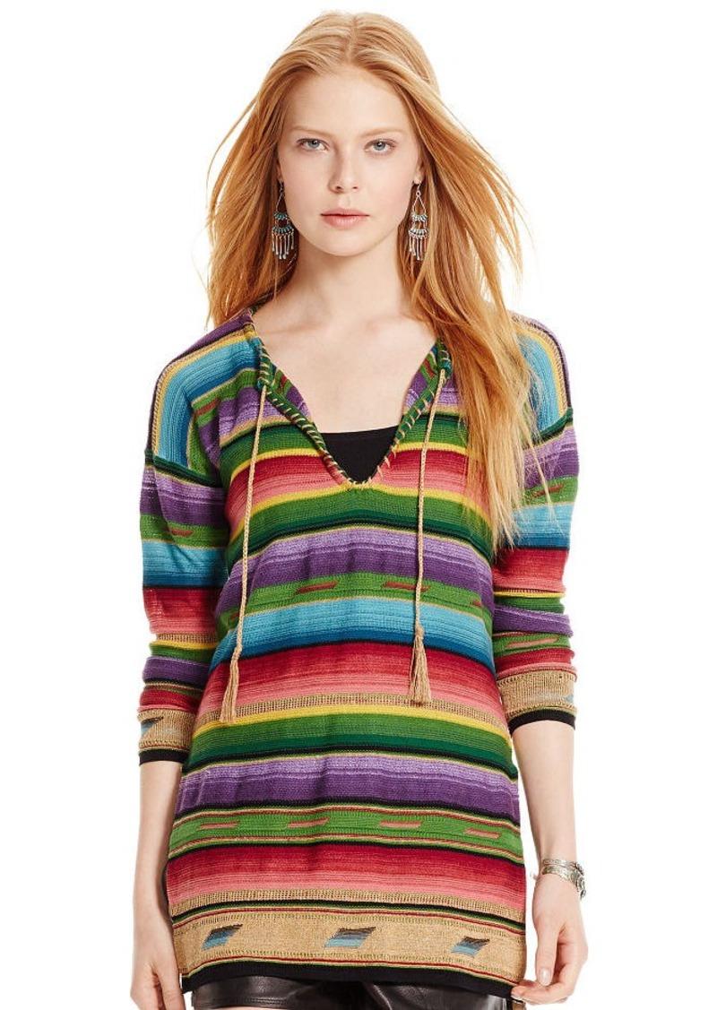 Ralph Lauren Serape Knit Pullover
