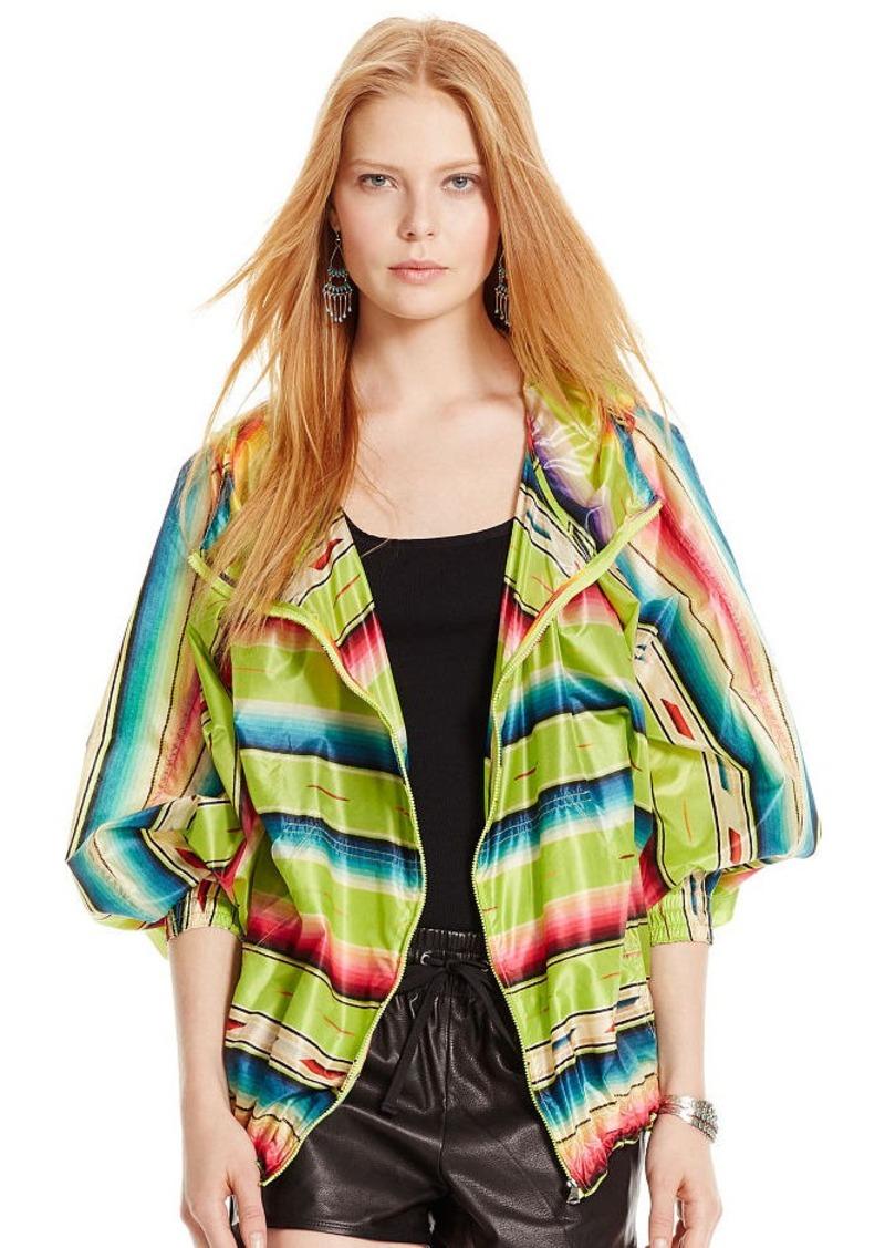 Ralph Lauren Serape-Print Hooded Jacket