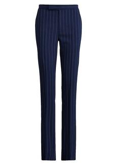 Ralph Lauren Seth Pinstripe Virgin Wool Trousers