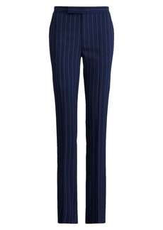 Ralph Lauren Seth Pinstripe Virgin Wool Trousers