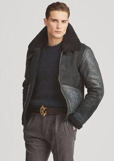 Ralph Lauren Shearling Aviator Jacket