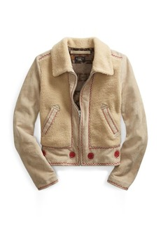 Ralph Lauren Shearling Jacket