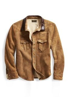 Ralph Lauren Shearling Western Shirt Jacket