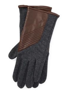 Ralph Lauren Sheepskin Tech Gloves