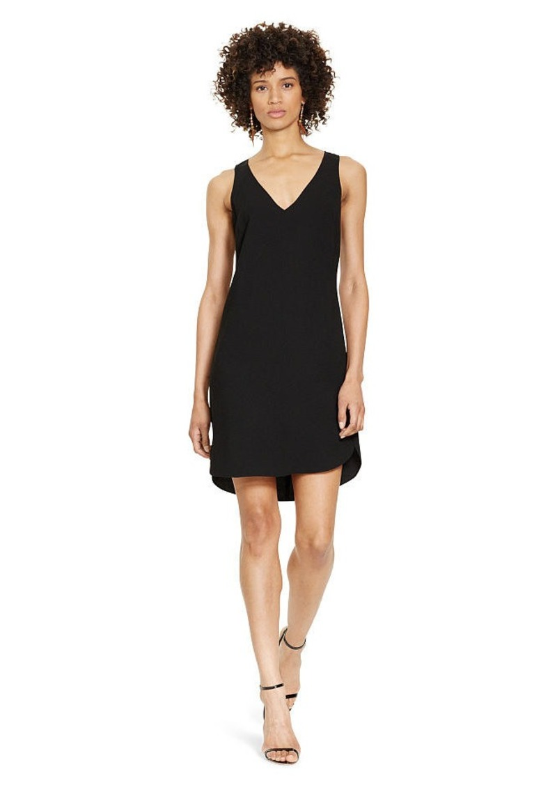 Ralph Lauren Sheer-Back Shift Dress