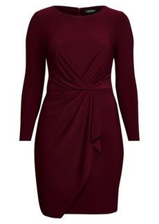 Ralph Lauren Shirred Jersey Dress