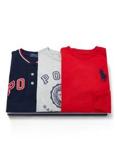 Ralph Lauren Shirt 3-Piece Gift Set