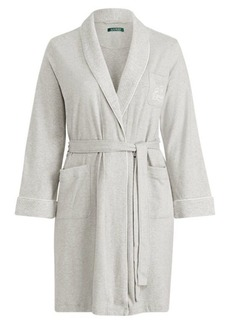 Ralph Lauren Short Shawl-Collar Robe