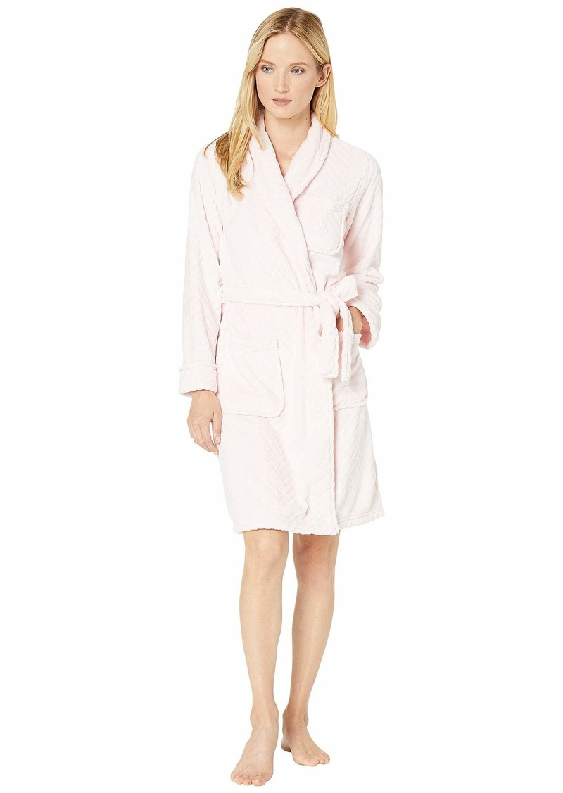 Ralph Lauren Short Shawl Collar So Soft Robe