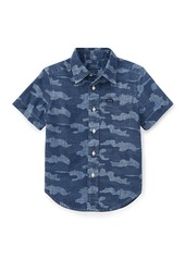 Ralph Lauren Short-Sleeve Button-Down Camo Shirt