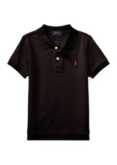 Ralph Lauren Short-Sleeve Logo Embroidery Polo Shirt  Size 2-3