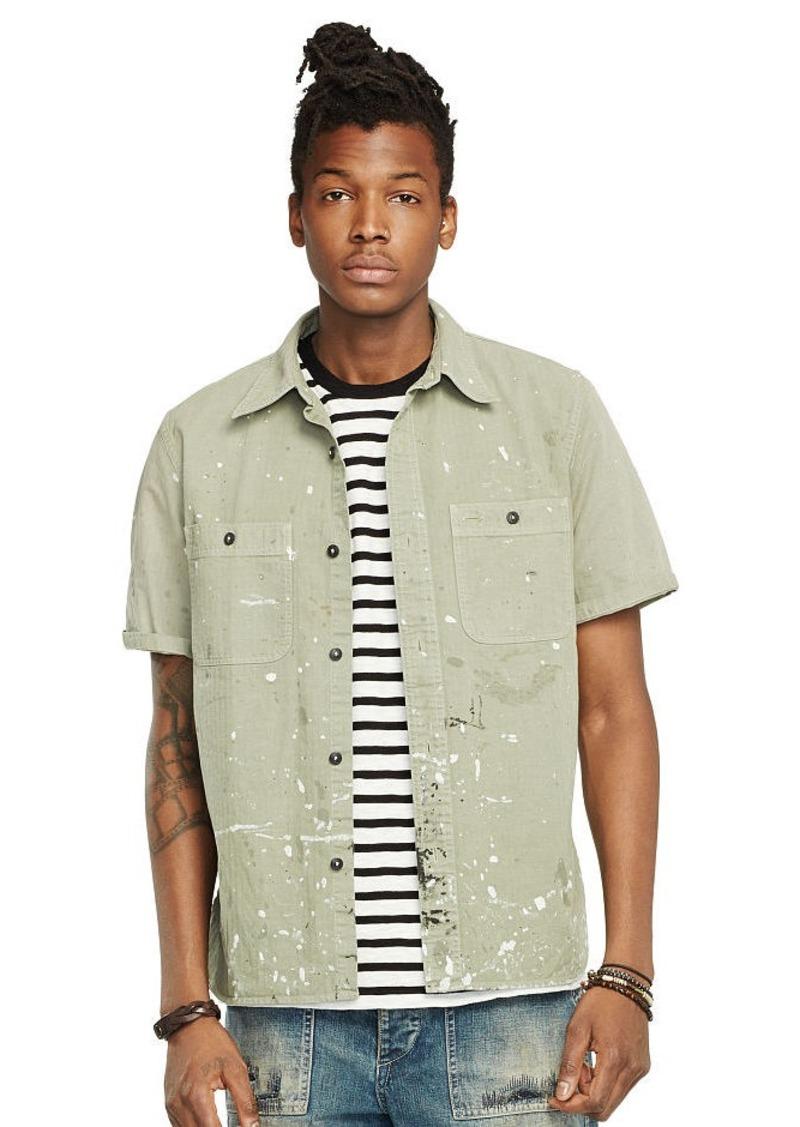 Ralph Lauren Short-Sleeve Sport Shirt