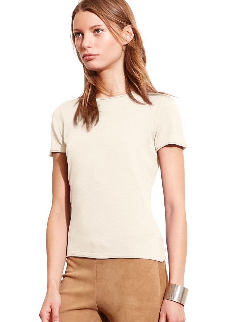 Ralph Lauren Short-Sleeve Sweater Tee