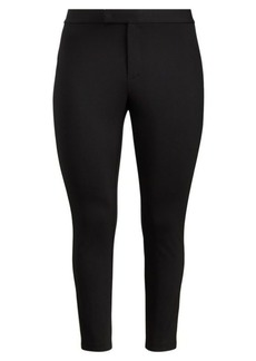 Ralph Lauren Side-Stripe Ponte Pant