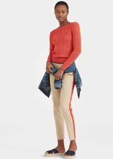 Ralph Lauren Side-Stripe Stretch Twill Pant