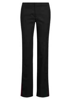 Ralph Lauren Side-Stripe Wool-Blend Pant